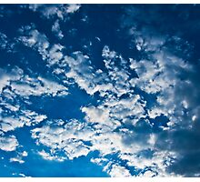 In the Clear Blue Sky. Photographic Print
