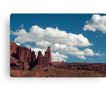 Stone Towers Canvas Print