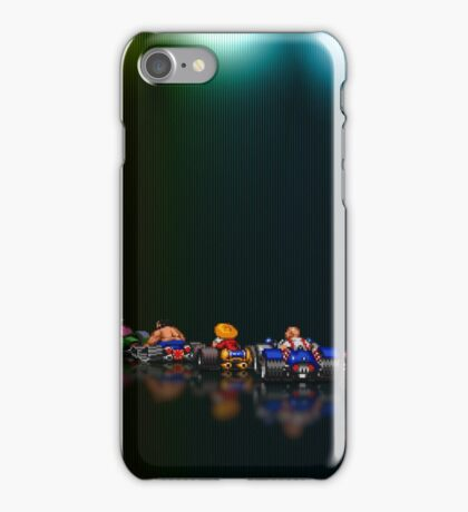 Street Racer pixel art iPhone Case/Skin