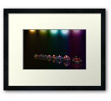 Street Racer pixel art Framed Print
