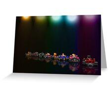 Street Racer pixel art Greeting Card