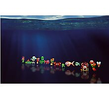 James Pond pixel art Photographic Print