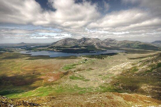 Lough Inagh Valley by John Quinn