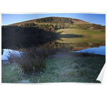 Reflections, Ladybower Reservoir. Poster
