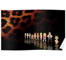 Leisure Suit Larry pixel art Poster