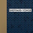 SHEPPARD-YONGE Subway Station by Daniel McLaren