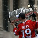 TAZER WITH THE STANLEY CUP! by Erik Anderson