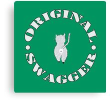 Original Swagger (Green) Canvas Print