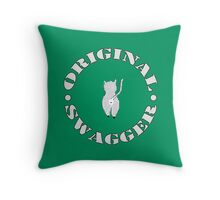 Original Swagger (Green) Throw Pillow