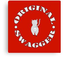 Original Swagger (Red) Canvas Print