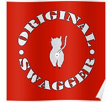 Original Swagger (Red) Poster
