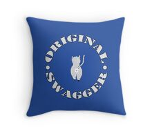 Original Swagger (Blue) Throw Pillow