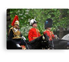 Three Big Hats: Trooping the Colours. London. UK Metal Print