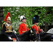 Three Big Hats: Trooping the Colours. London. UK Photographic Print
