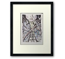 Levi's in history Framed Print