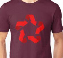 recycle red star Symbol of new communism era  Unisex T-Shirt