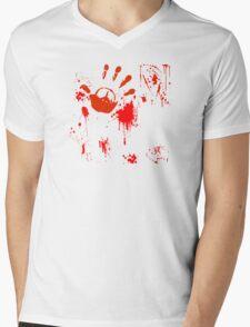 Peace now! Mens V-Neck T-Shirt