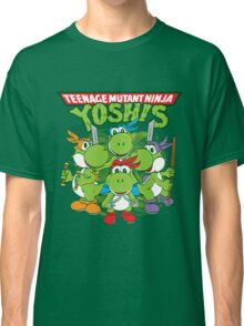 Teenage Mutant Ninja Yoshis Classic T-Shirt
