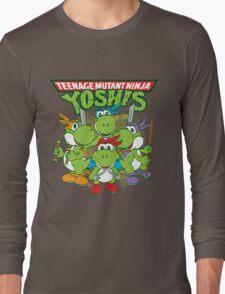 Teenage Mutant Ninja Yoshis Long Sleeve T-Shirt