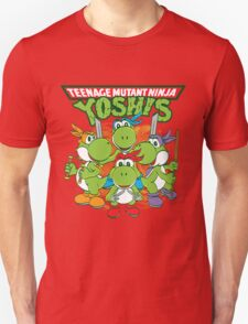 Teenage Mutant Ninja Yoshis Unisex T-Shirt
