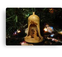 Christmas Nativity Canvas Print