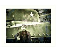 untitled soldier  Art Print