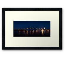 Sir John A. MacDonald Bridge - Halifax, NS Framed Print
