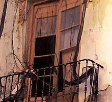 Window in mourning - Malaga Spain by evilcat
