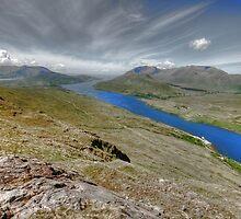 Killary Fjord View by John Quinn