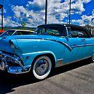1955 Ford Fairlane Sunliner by Bryan D. Spellman