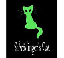 Schrödinger's Cat Photographic Print