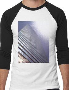 One World Trade Center, NYC, NY Men's Baseball ¾ T-Shirt
