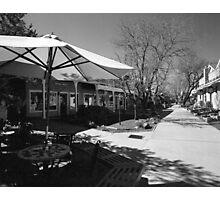 John Dunn Plaza, Taos Photographic Print