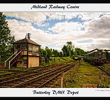 Butterley DMU Depot by David J Knight