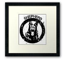 GSD - Shepherd Framed Print