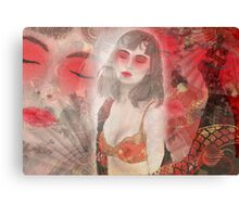 To tell you a geisha story... Canvas Print