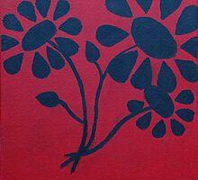 Flowers' Silhouette by LivyBear