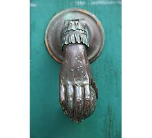Door Knocker Photographic Print