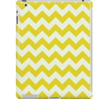 Beautiful bright yellow retro Chevron pattern  iPad Case/Skin