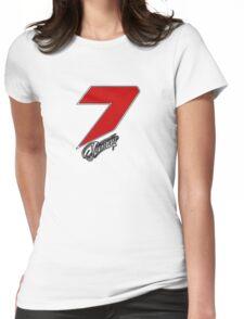 Kimi Räikkönen 7 red Womens Fitted T-Shirt