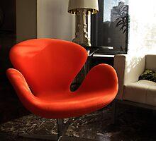Arne Jacobsen -  Swan Chair by jules572