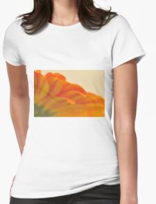 Orange Gerbera Daisy 2, As Is Womens Fitted T-Shirt