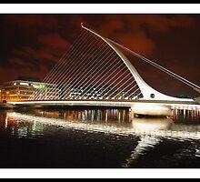 The Spirit of Ireland !- Samuel Beckett Bridge by Ferdinand Lucino