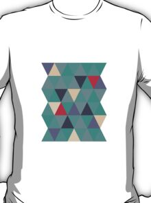 Sage triangles T-Shirt