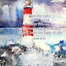 lighthouse  by aquaarte
