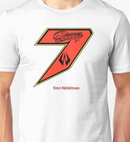Kimi Raikkonen  Unisex T-Shirt