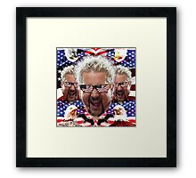 GUY AMERICA Framed Print