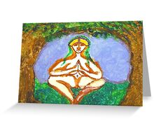 Mia... Tree Goddess #1 Greeting Card