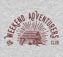 Weekend Adventurers Club Kids Tee