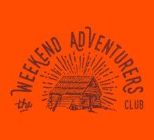 Weekend Adventurers Club Kids Tee